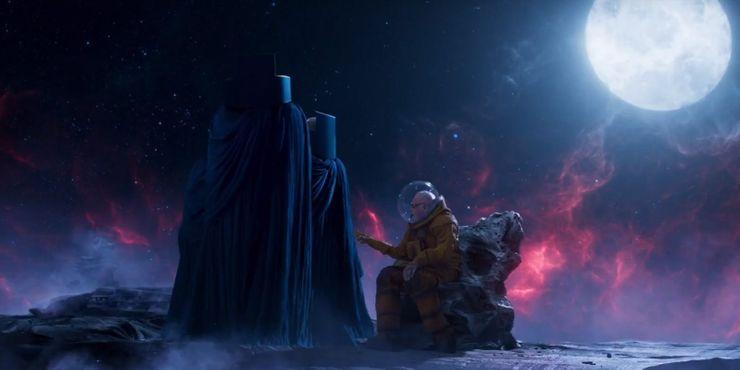 сцена после титров Стражи Галактики. Часть 2