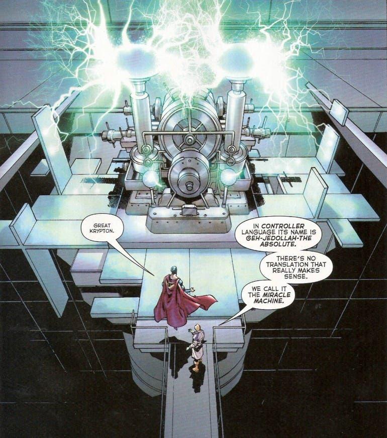 артефакты DC Чудо-машина