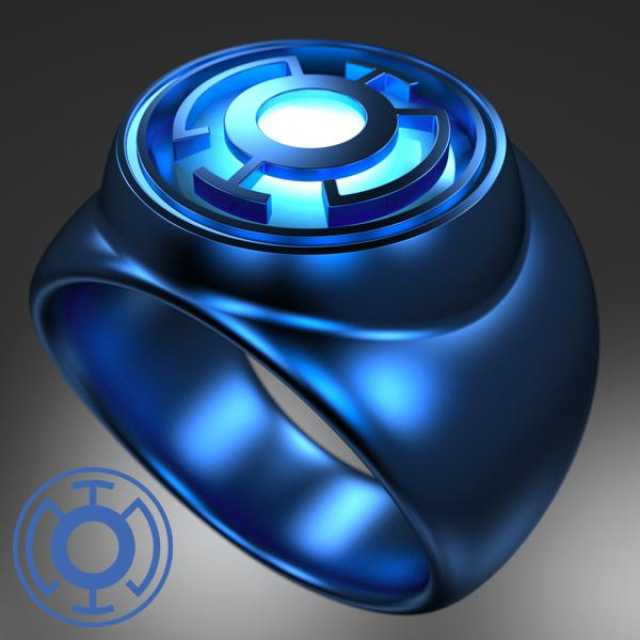 артефакты DC Кольцо Корпуса Голубых Фонарей