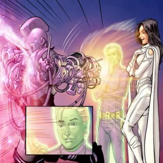артефакты DC Пояс силового поля Brainiac 5