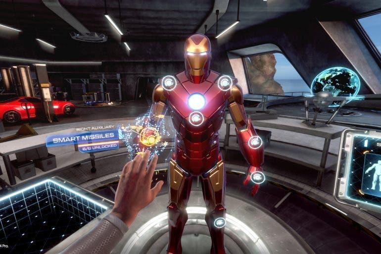 новая игра о Железном Человеке в VR