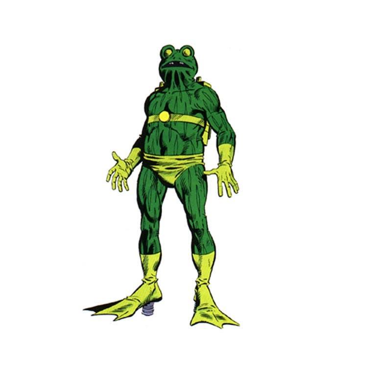 самые странные супергерои Марвел Человек-лягушка