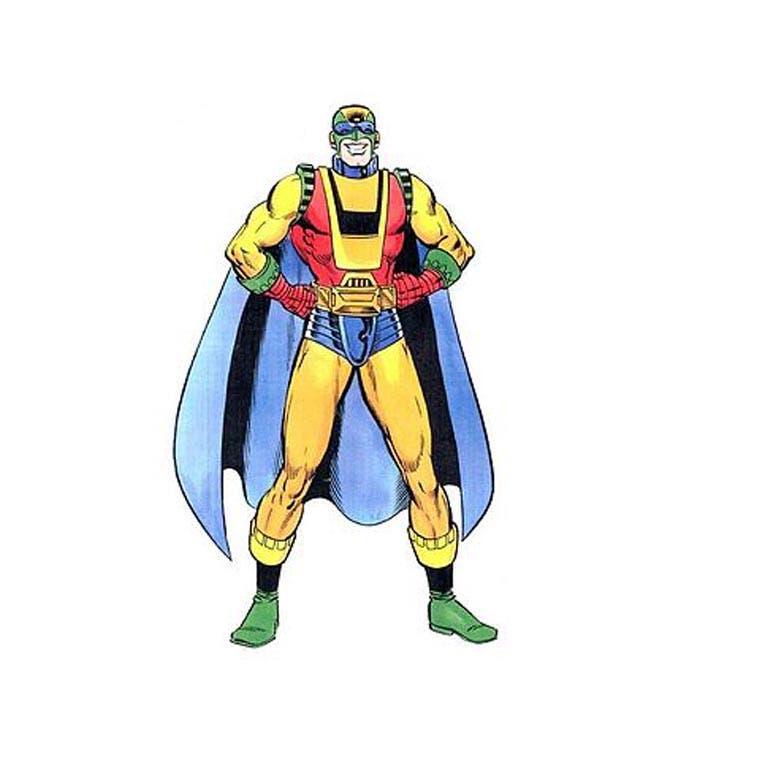 самые странные супергерои Марвел Капитан Ультра