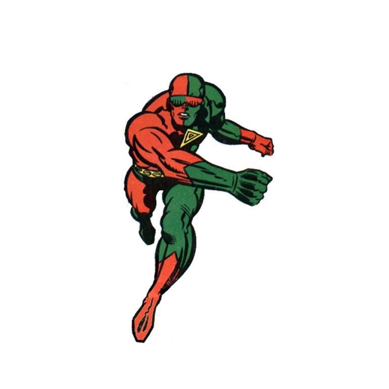 самые странные супергерои Марвел Трехмерный Человек