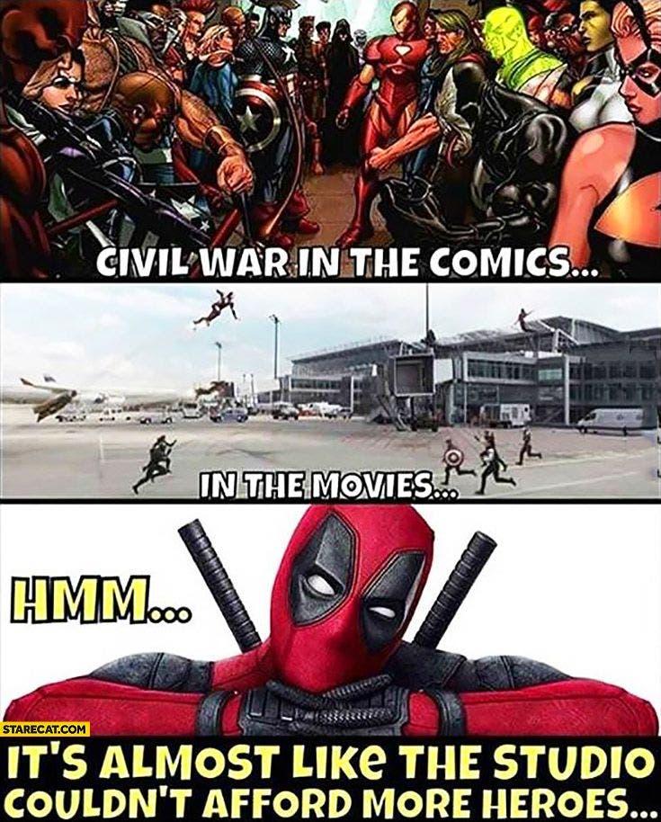 в чем разница между комиксами марвел и квм