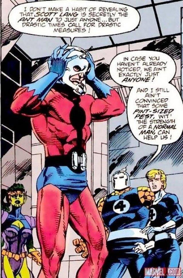 Персонажи Фантастической четверки: Человек-муравей
