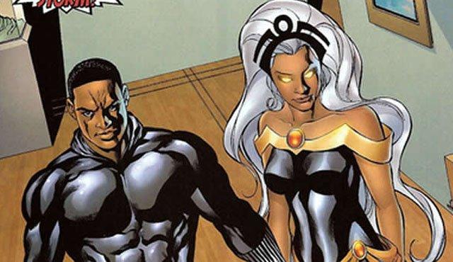 Персонажи Фантастической четверки: Черная Пантера и Шторм