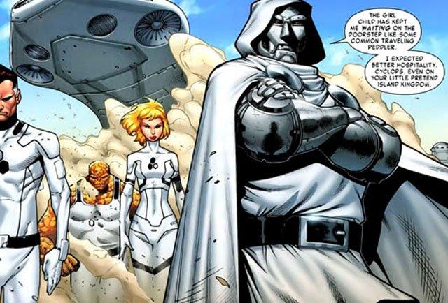 Персонажи Фантастической четверки: Доктор Дум