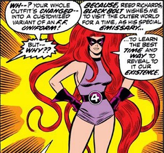 Персонажи Фантастической четверки: Медуза