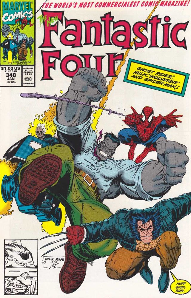 Персонажи Фантастической четверки: Новая Фантастическая четверка
