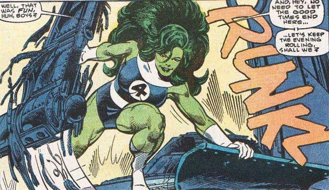 Персонажи Фантастической четверки: Женщина-Халк