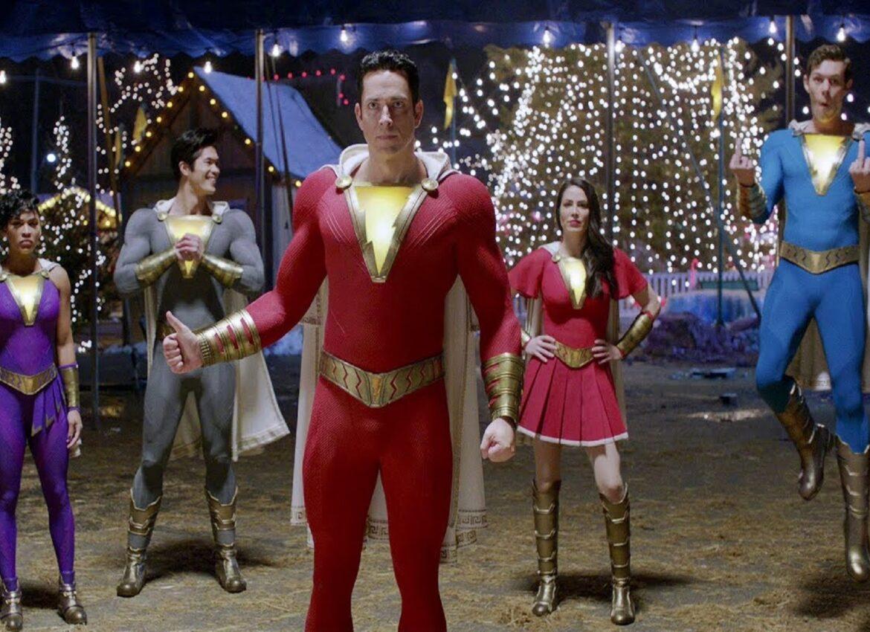 В Шазам 2 покажут супергероев из Семьи Шазам