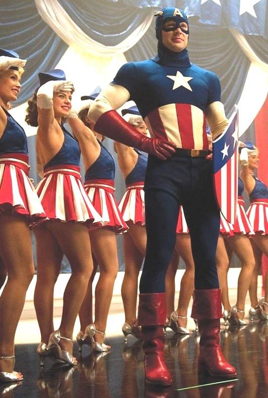 костюмы капитана америка