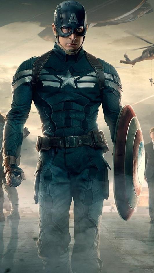 стелс костюм Капитана Америка