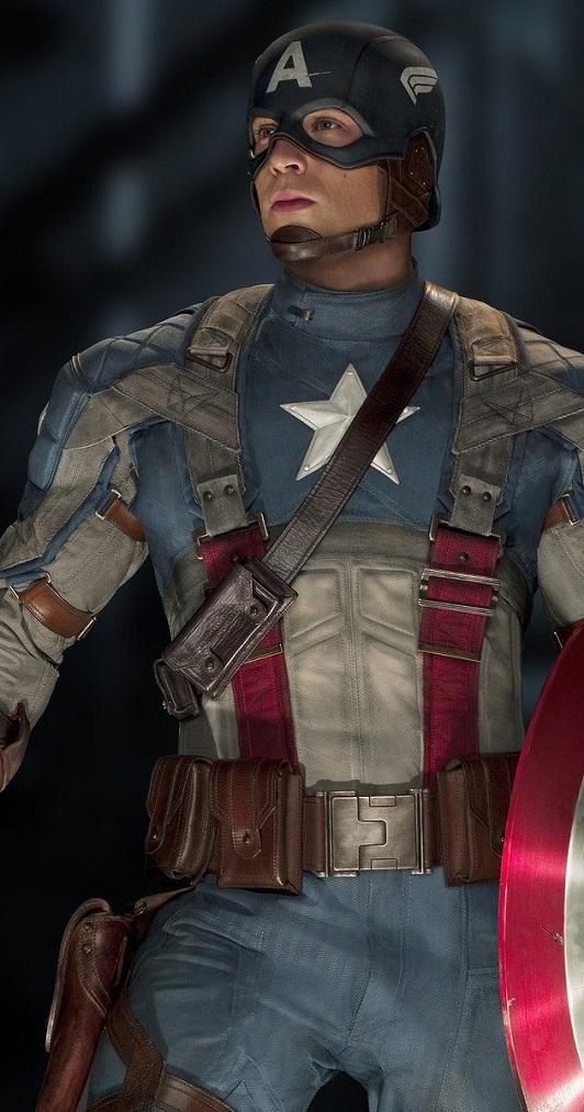 униформа капитана америка