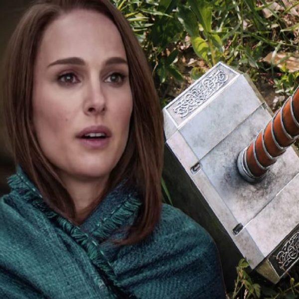 Джейн будет владеть Мьёльниром в Тор Любовь и гром