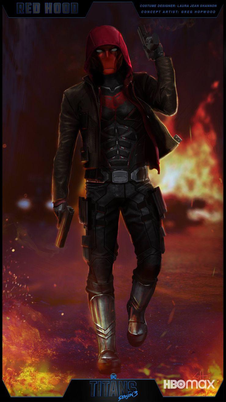 Как будет выглядеть Красный Колпак в 3 сезоне Титанов