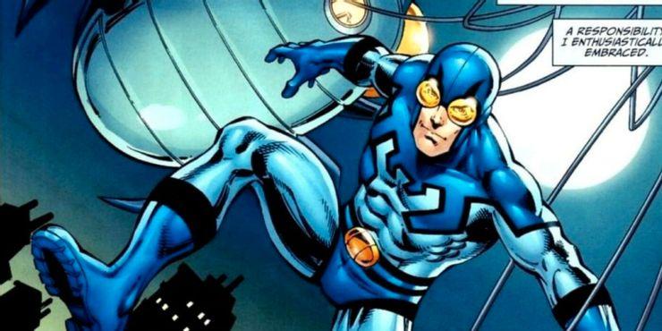 Синий Жук так и не появился во Вселенной Стрелы