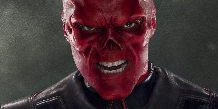 почему у красного черепа красное лицо