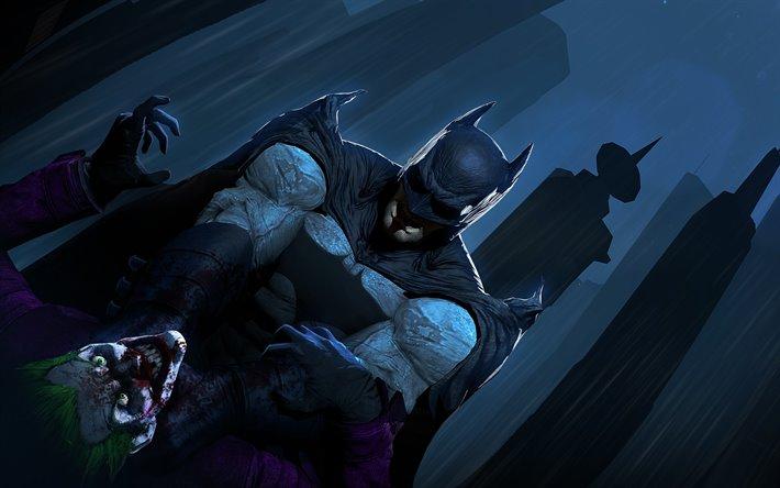 Бэтмен против Джокер кто победит