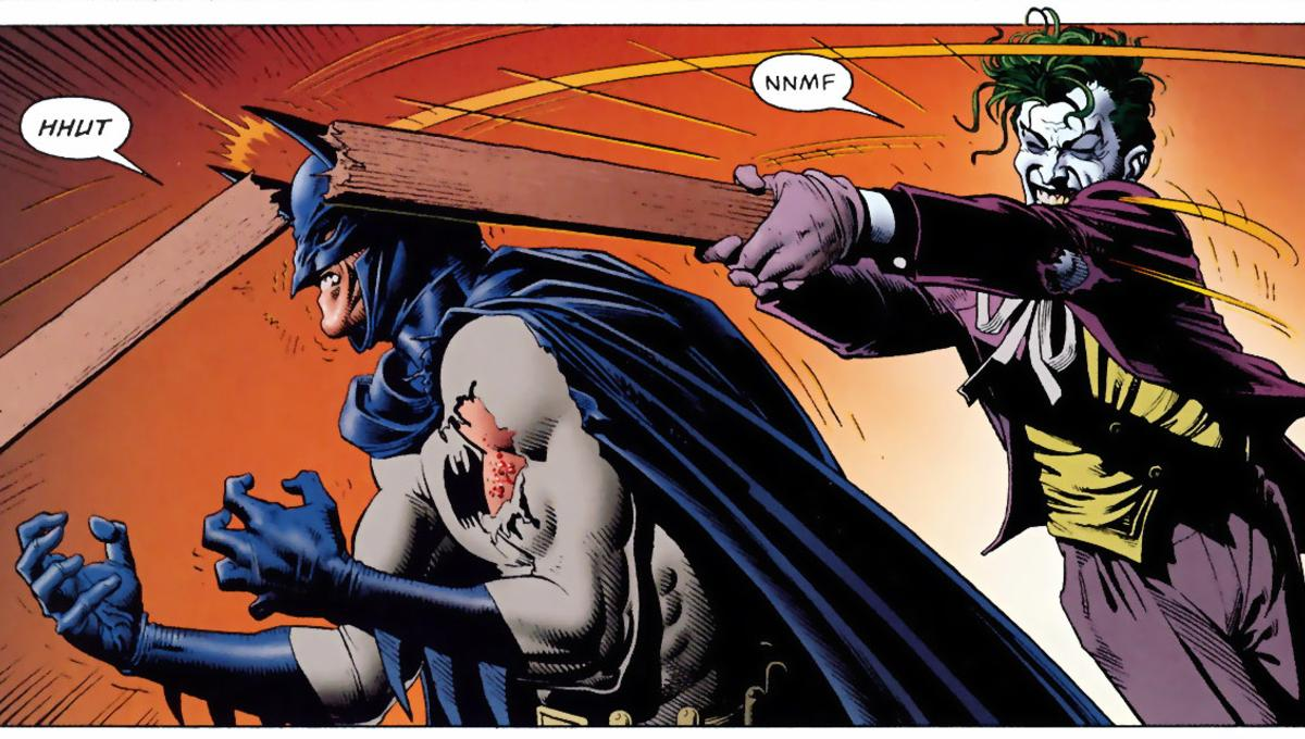 Кто сильнее Бэтмен или Джокер