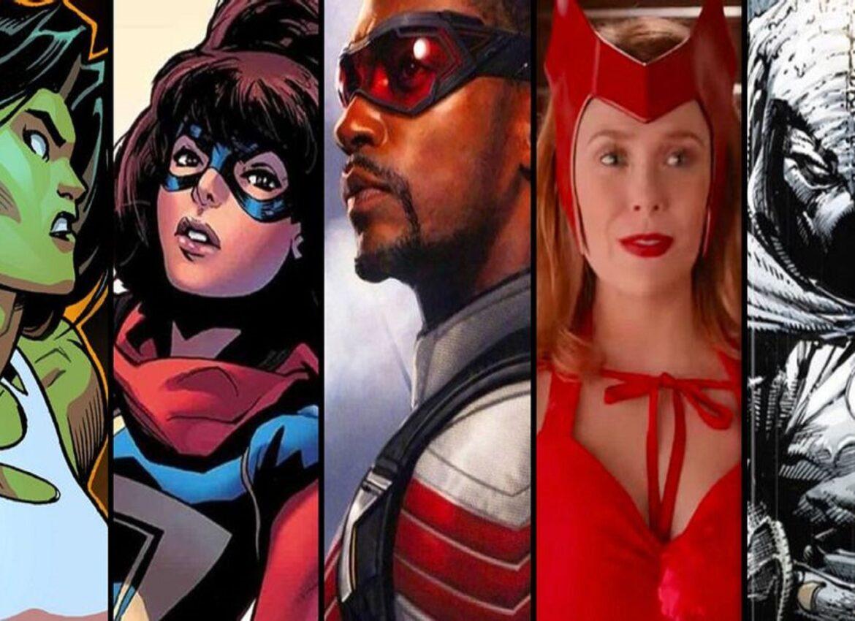 Marvel анонсировали 10 сериалов которые выйдут в ближайшие пару лет