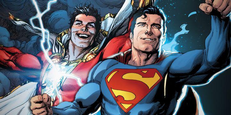 кто лучше Шазам или Супермен