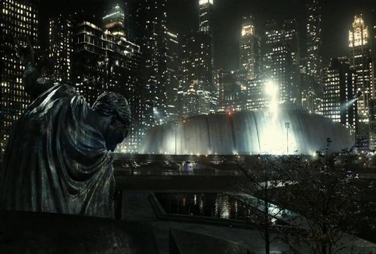 Пасхалки в сцене проникновения на криптонский корабль