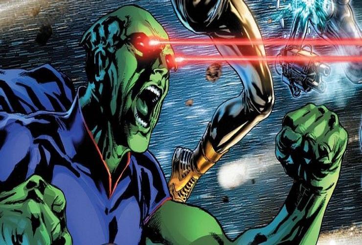 Способности Марсианского Охотника на людей в комиксах DC
