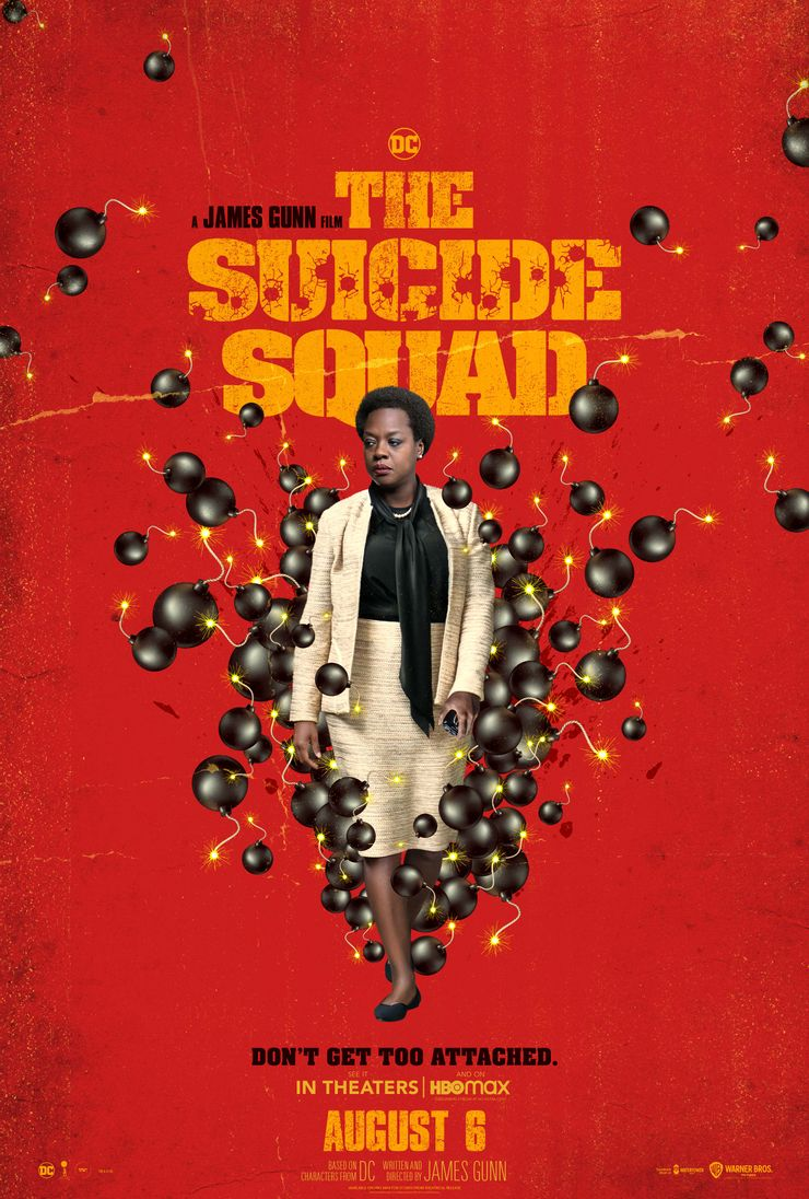 постер Аманды Уоллер Отряд самоубийц Миссия навылет