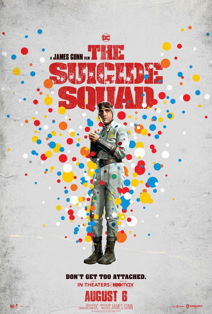 постер Человека в горошек Отряд самоубийц Миссия навылет
