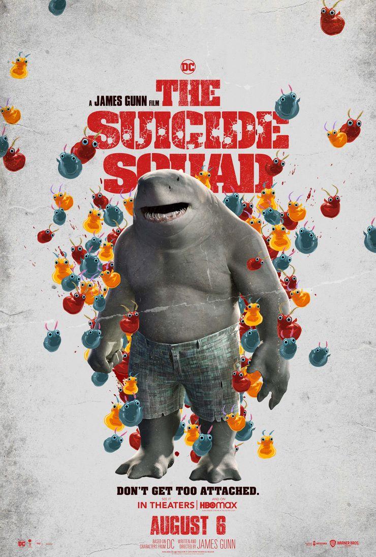 постер Короля Акулы Отряд самоубийц Миссия навылет