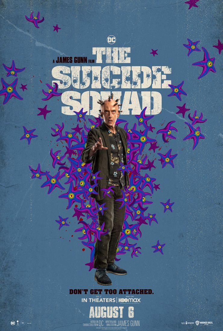постер Мыслителя Отряд самоубийц Миссия навылет