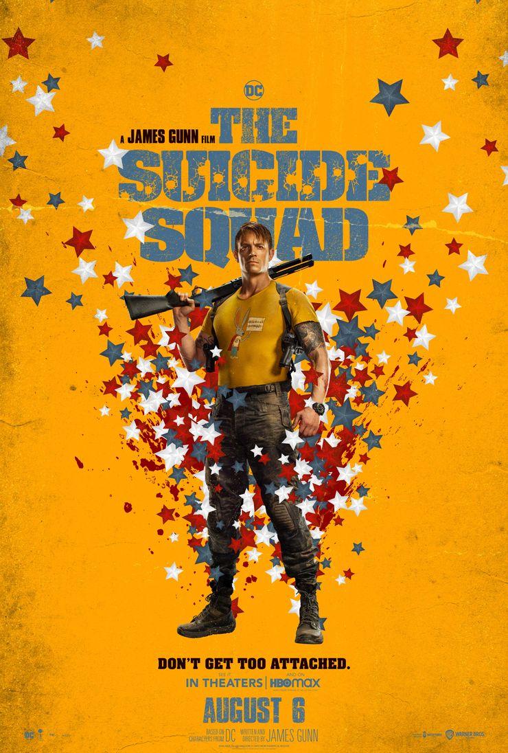 постер Рика Флэга Отряд самоубийц Миссия навылет