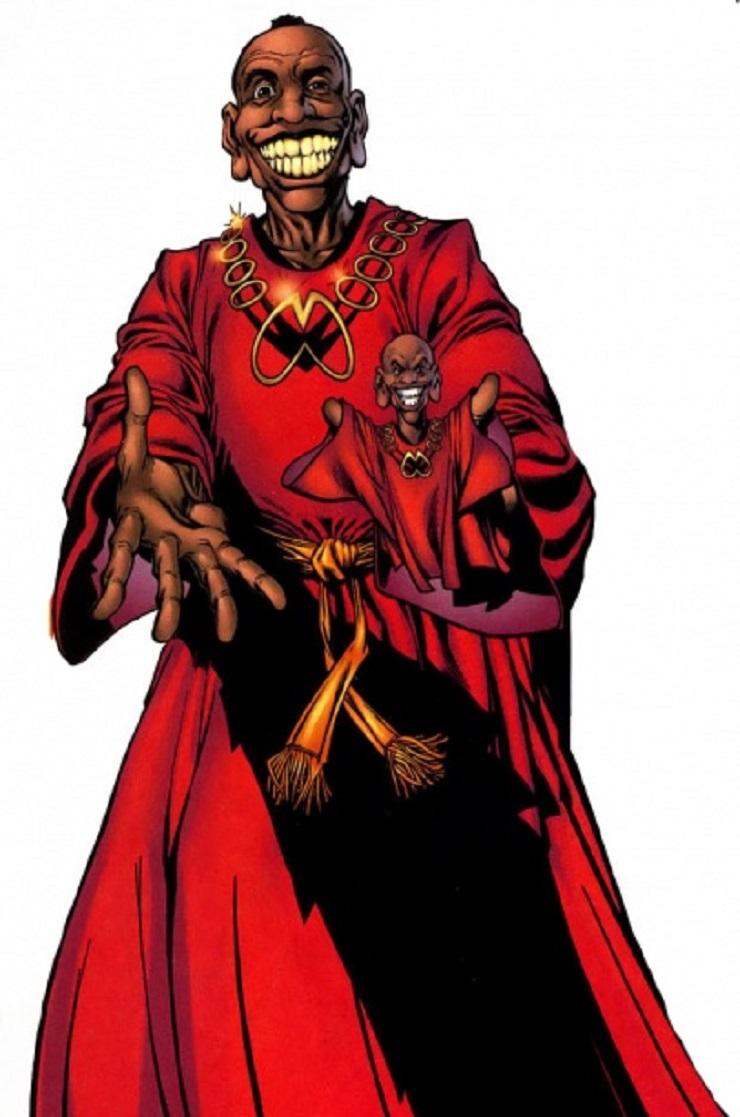 Биография персонажа Achebe Marvel