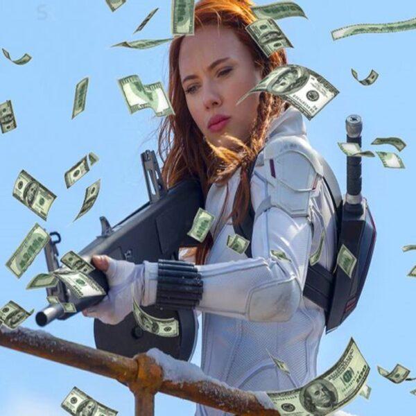 Черная вдова заработала 60 миллионов долларов только с Disney+