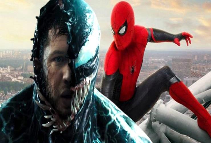 кроссовер между Веномом и Человеком-пауком